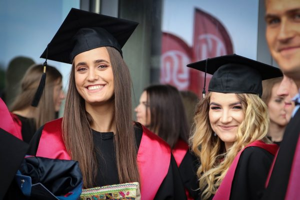 Graduation ceremony at LSU