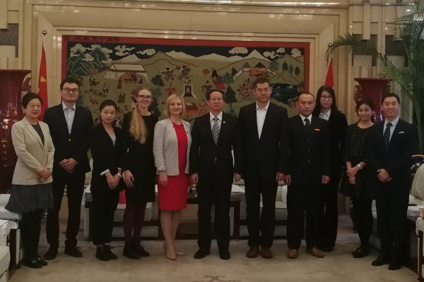 LSU rektorė Kinijoje