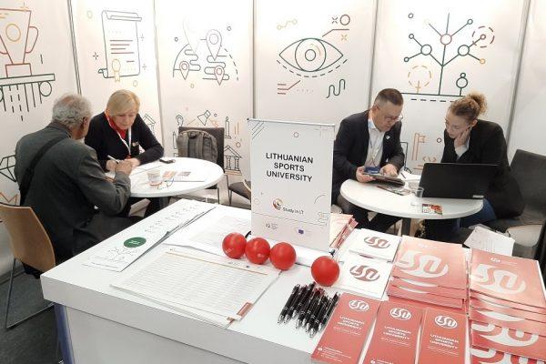 Lietuvos sporto universitetas parodoje Helsinkyje