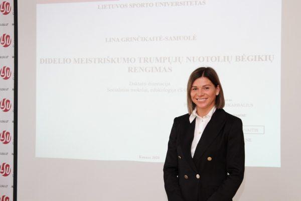 Lina Grinčikaitė Samuolė 1
